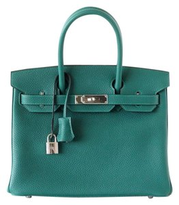 Hermès Hermes Birkin 30 Tote in Malachite - Green