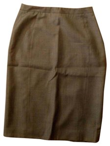 Zanella Pencil Size 2 Skirt Gray