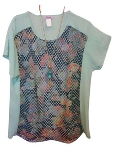 Essential Collection Top Mint & Multi