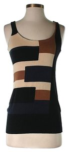 Diane von Furstenberg Silk Color-blocking Sweater