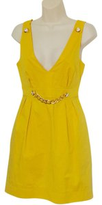 Dolce&Gabbana short dress Mustard yellow on Tradesy