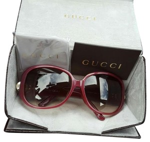 Gucci Gucci Gradiant Red Sunglasses
