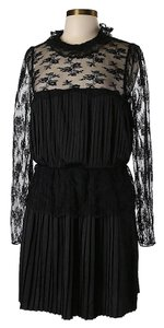 Free People Lace Pleated Dress
