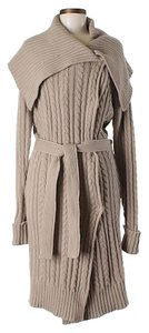 Stella McCartney Wool Cashmere Angora Full Length Belted Cardigan