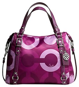 Coach Fuchsia Shoulder Bag