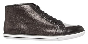 Elie Tahari Metallic Black Athletic