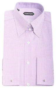Tom Ford Button Down Shirt Purple