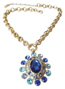 "R.J. Graziano R. J. Graziano ""Full Spectrum"" Tonal Crystal Drop Necklace 18-1/2"""