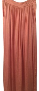 Zara Maxi Skirt Light coral