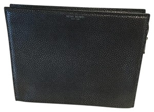 Henri Bendel Dark Grey Clutch