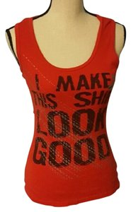 Self Esteem Look Good Flattering Top Red