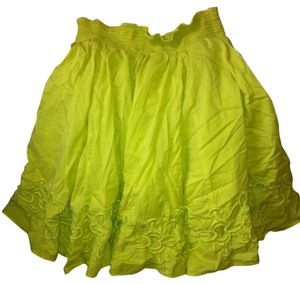 Banana Republic Lime Green Skirt