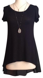 Living Doll Los Angeles Top Black