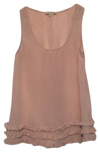 Forever 21 Top Dusty Pink Silk