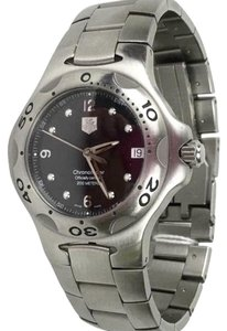 TAG Heuer TAG HEUER Classic Mens Stainless Steel Watch w/ Black Face!