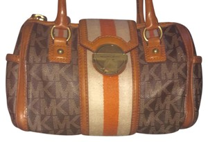 MICHAEL Michael Kors Vintage Satchel in Brown
