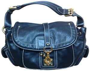 Marc Jacobs Satchel in Black pebbled leather