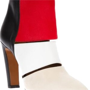 Calvin Klein Collection Blk/wht/red Boots