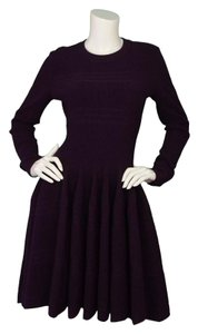 ALAA Fit And Flare Long Sleeve Dress