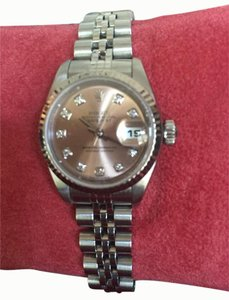 Rolex Rolex Womens Datejust Pink Face with Diamonds
