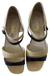 Chanel Classic Color Closed Back Sandals