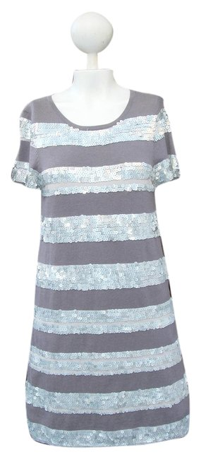Preload https://img-static.tradesy.com/item/1847055/nordstrom-grey-sequin-casual-fit-above-the-knee-length-night-out-dress-size-8-m-0-0-650-650.jpg