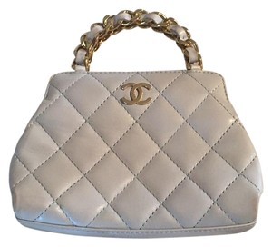 Chanel Palest Pastel Blue Clutch