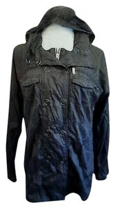 Hurley Windbreaker Black Jacket