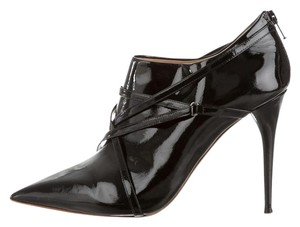 Chlo Chloe Bootie BLACK PATENT LEATHER Boots