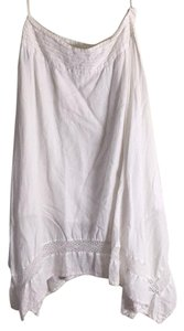 Ralph Lauren Linen Handkerchief Skirt White