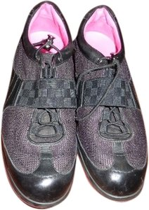 Louis Vuitton BLACK EXTERIOR & FUSCHIA INTERIOR Athletic