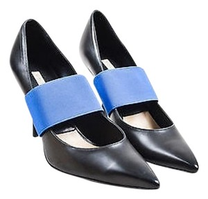 Michael Kors Blue Black Pumps