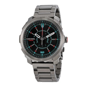 Diesel Diesel Machinus Gunmetal Sunray Dial Mens Watch