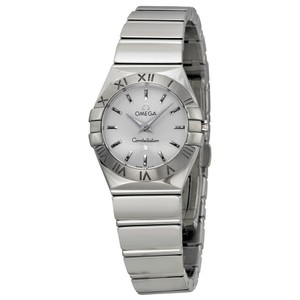 Omega Omega Constellation Silver Dial Stainless Steel Ladies Watch