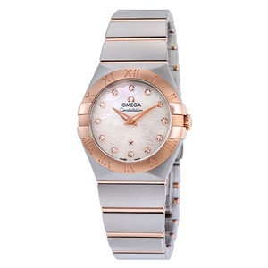 Omega Omega Constellation Mother Of Pearl Dial Quartz Ladies Watch