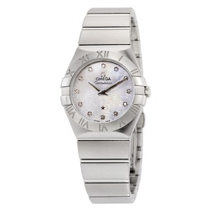 Omega Omega Constellation Mop Dial Stainless Steel Ladies Watch 12310276055004