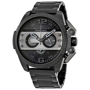 Diesel Diesel Ironside Chronograph Black Dial Black Ion-plated Mens Watch