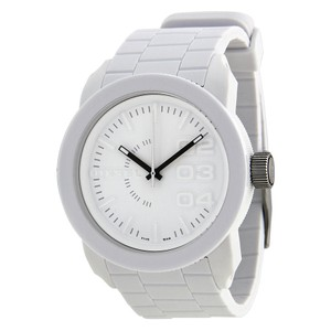 Diesel Diesel Double Down White Rubber Mens Watch