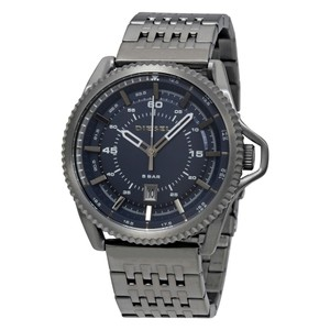 Diesel Diesel Rollcage Blue Dial Mens Watch
