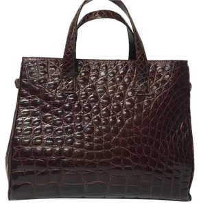 Saks Fifth Avenue Satchel in Brown