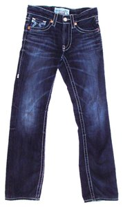 Big Star Union Classic Dark Wash Boot Cut Jeans-Dark Rinse