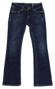 Miss Me Style Jp5046r Medium Wash Lightly Distressed Embellished Boot Cut Jeans-Medium Wash