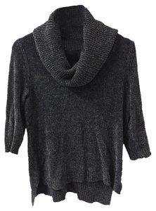 Cable & Gauge Knit Cowl-neck Sweater