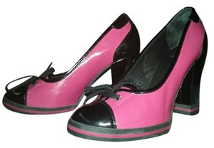 Dolce&Gabbana Hot Pink/ Black Pumps
