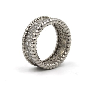Van Cleef & Arpels Van Cleef & Arpels Perlee Diamond Eternity Band Ring Size 52