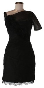 BCBGMAXAZRIA Lace Embroidered Dress