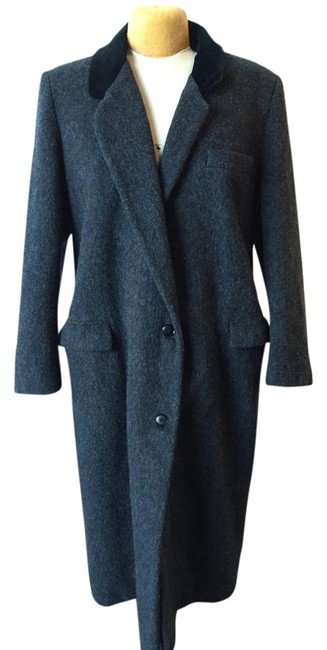 Item - Black Wool Coat Size 12 (L)