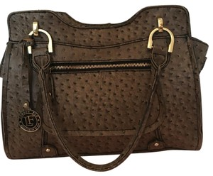 London Fog Satchel in Brown