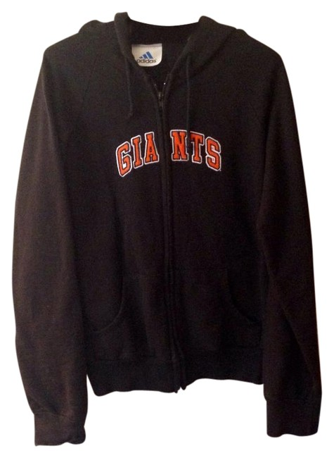 Item - Black Orange and White Giants Sweatshirt Large Activewear Outerwear Size 12 (L, 32, 33)