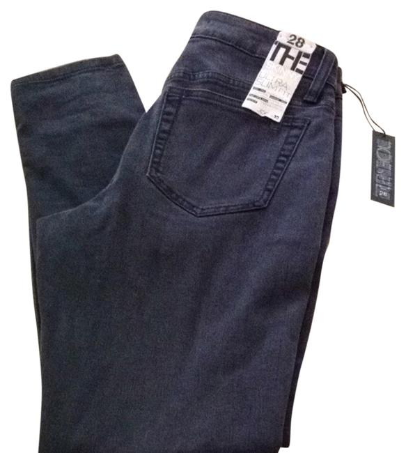 Item - Black Distressed The Ankle Skinny Jeans Size 28 (4, S)